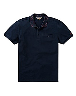 Ben Sherman Target Collar Polo Long
