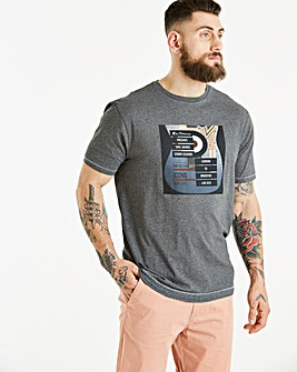 Ben Sherman Guitar Print T-Shirt Reg