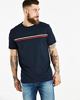 Ben Sherman Chest Stripe T-Shirt Long