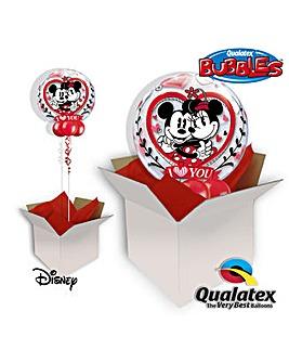 Mickey & Minnie Bubble Balloon in A Box
