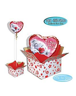 Me to You Tatty Teddy Balloon in A Box