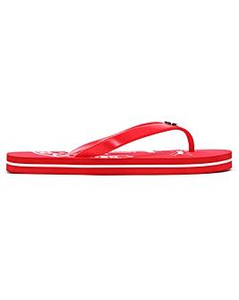 Ralph Lauren Elissa II Logo Flip Flops