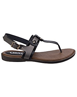 Divaz Sabrina Toe Post Sandal