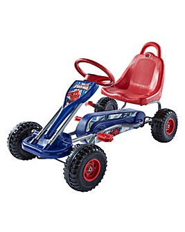 Spiderman Go Kart