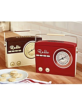 Shortbread Radio Tin