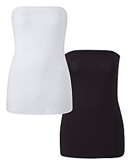 Pack of 2 Boobtubes