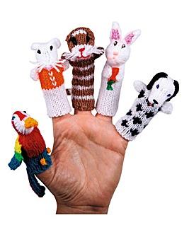 Finger Puppets Set of 5