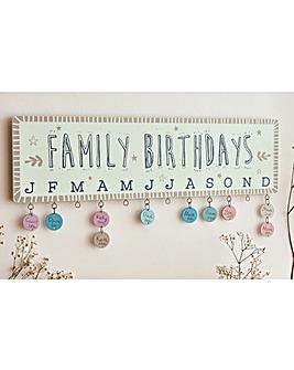 Birthday Plaque