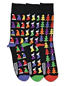 Christmas Odd Socks Nick