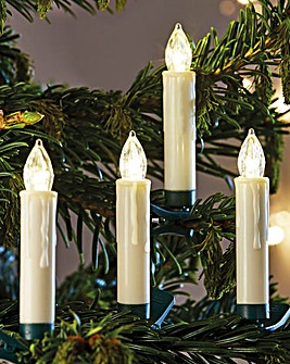 Christmas Candles Set of 10