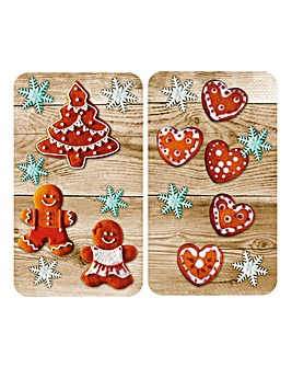 Gingerbread Universal Hob Top Cover