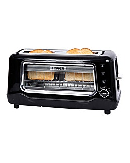 Tower See Through Toaster