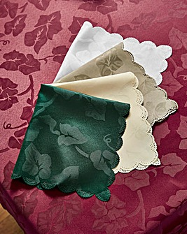Ivy Leaf Table Cover