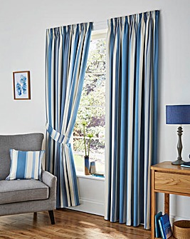 Classic Stripe Machine Washable Curtains