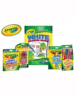Crayola Big Stationery and Paper Bundle