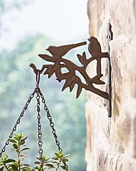 Birds Hanging Basket Hooks Set of 2