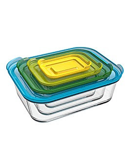 Joseph Joseph Nest Storage Glass 4 Pc