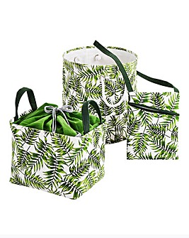 3 Piece Tropical Laundry Set