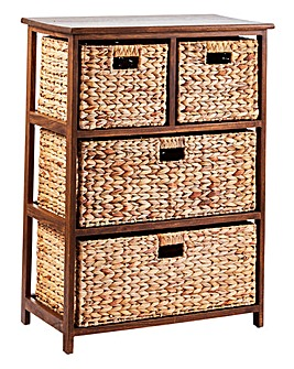Hyacinth 2+2 Drawer unit