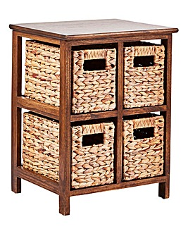 Hyacinth 4 Drawer Square Unit