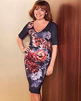 Lorraine Kelly Floral Print Dress