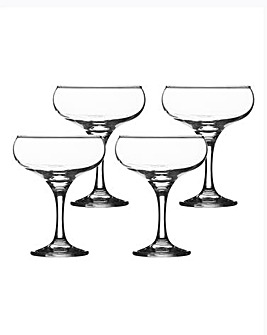 Set of 4 Cocktail Saucers