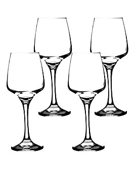 Set of 4 Nova White Wine Glasses