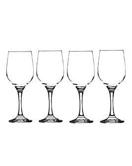 Set of 4 Cabernet White Wine Glasses