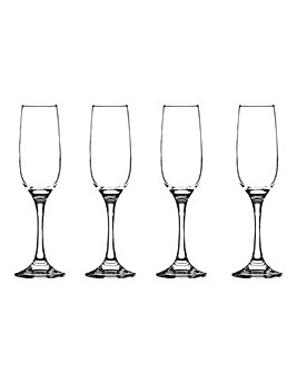 Set of 4 Cabernet Flutes