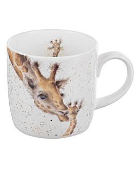 Wrendale - First Kiss Mug (Giraffe)