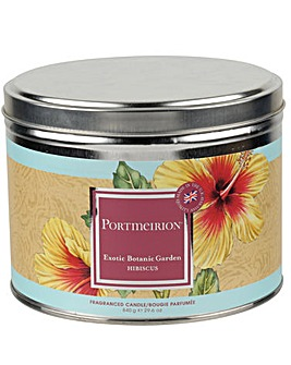 Portmeirion Hibiscus 3 Wick Candle