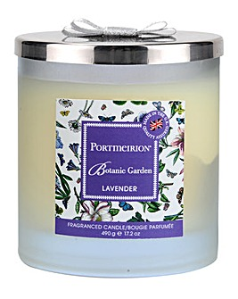 Portmeirion Lavender 2 Wick Candle