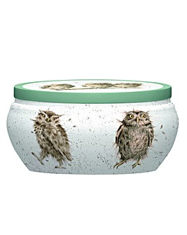 Wrendale Boutique Tin Candle (owl)