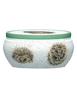 Wrendale Boutique Tin Candle (hedgehog)
