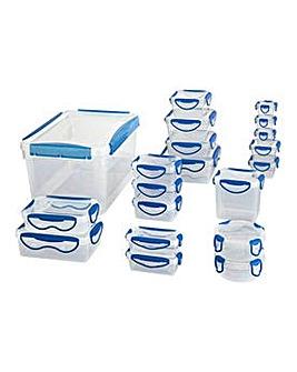 HOME 20-in-1 Clip Fresh Storage Set.