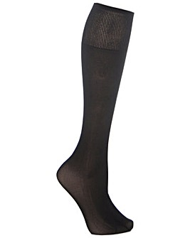 Extra Roomy Light Support Knee Highs