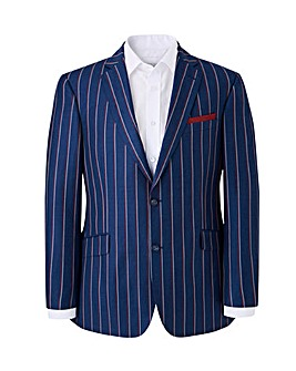 Brook Taverner Navy/Red Stripe Blazer R