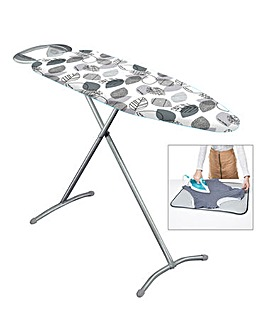 Minky Floral Classic T Leg Ironing Board