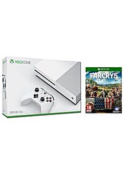 Xbox One S 500gb Console  Far Cry 5