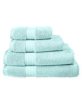 Pima Luxury Towel Range -Whispering Blue