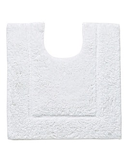 Silky Supersoft Pedestal Mat Snowflake