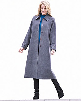 Dannimac Longline Coat Length 47in