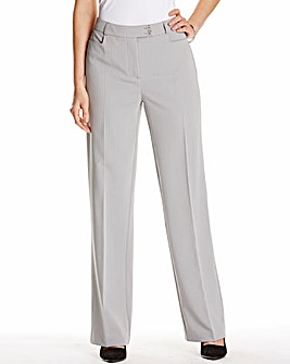 Slimma Wide Leg Stripe Trouser L30in