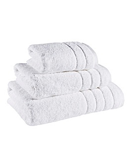 Hydra Cotton Towel Range - White