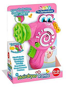 Baby Clementoni Electronic Hairdryer