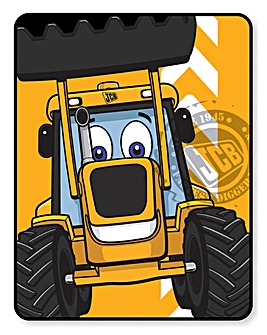 JCB Fleece Blanket