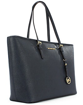 Michael Kors Medium Navy Tote Bag