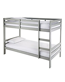 Munich Pine Bunk Bed with Mattress