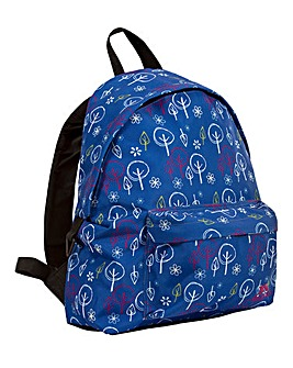 Trespass Britt Rucksack Tree Print