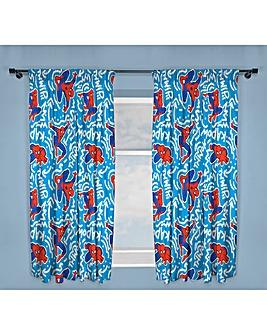 Spiderman Pop Art Curtains